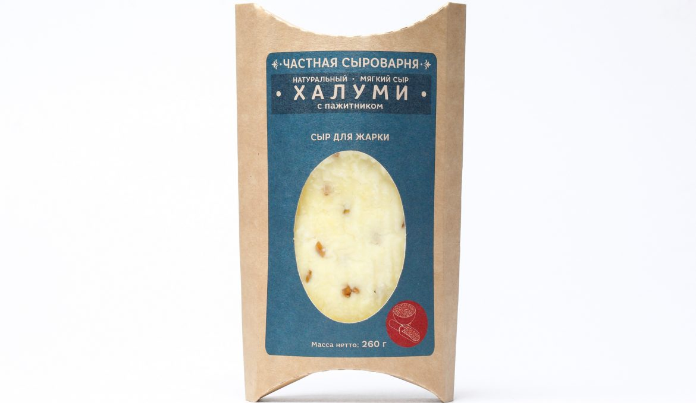 Мягкий Сыр Халуми с Пажитником 260 г