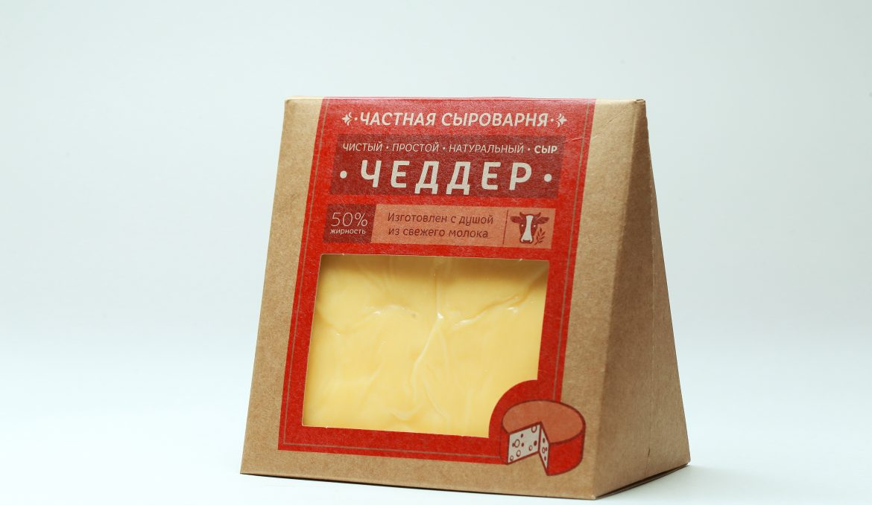 Сыр Чеддер полутвердый 260 г